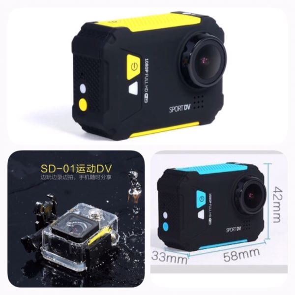 Original Remax SD-01 1080P H.264 FHD Car Mini Wifi Sports DV Video Camera1