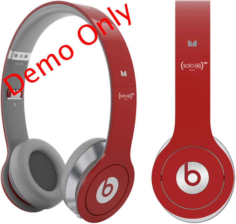 Beats By Dr Dre Headphone (Red)1