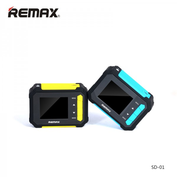 Original Remax SD-01 1080P H.264 FHD Car Mini Wifi Sports DV Video Camera2