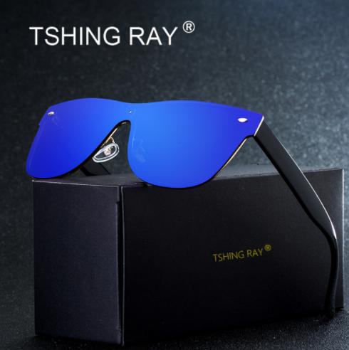 TSHING RAY Rimless Driving Sunglasses1
