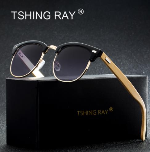 TSHING RAY Classic Half Frame Sunglasses1