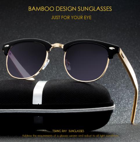 TSHING RAY Classic Half Frame Sunglasses2