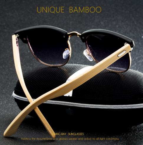 TSHING RAY Classic Half Frame Sunglasses3