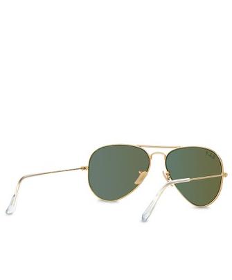 Aviator Large Metal RB3025 Polarized Sunglasses5