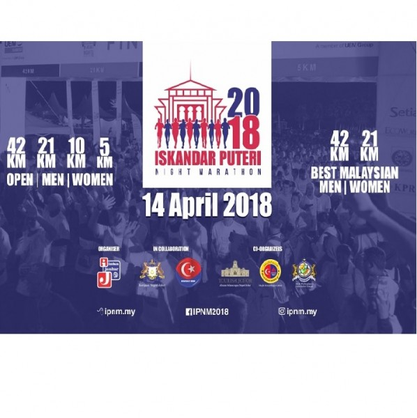 Iskandar Puteri Night Marathon 2018 run aa1