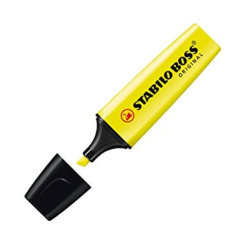 Stabilo Boss Yellow Highlighter 1pc1