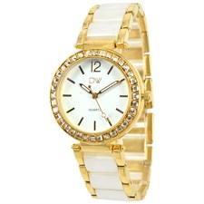 White Bracelet Stainless Steel Watch1
