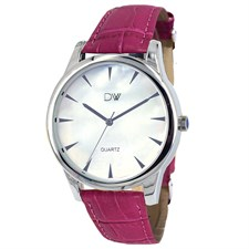 Pink Leather Watch1