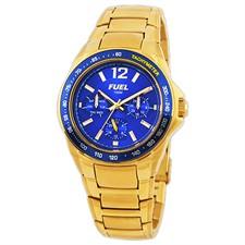 Gold Tone Case & Bracelet Watch1