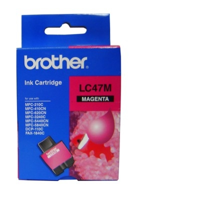 Borther LC47M  Magenta Ink Cartridge 1