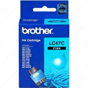 Borther LC47C  Cyan Ink Cartridge 1